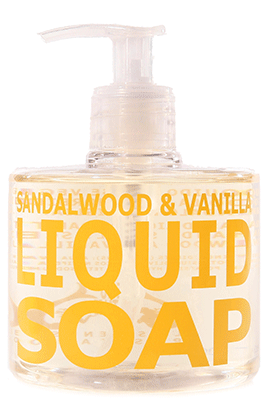 Sandalwood & Vanilla Liquid Soap